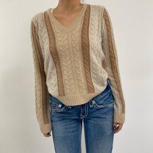 Neiman Marcus Exclusive Striped Cashmere Sweater